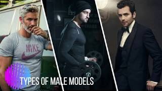 Types of Male Models