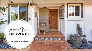 Custom Country Farmhouse  |  Joanna Gaines Inspired!