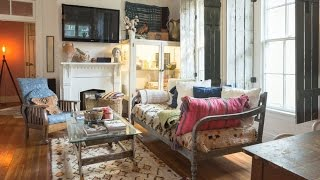 Tour Vintage & Bohemian Home In Nashville