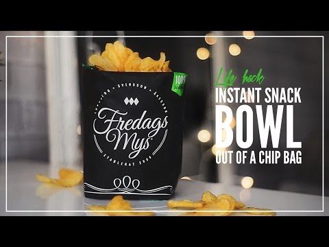 Classic Hacks: Turn A Bag Of Chips Into Its Very Own Serving Bowl