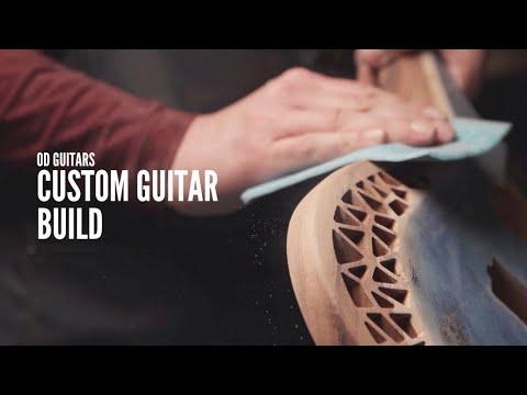 OD Guitars - building a full custom guitar