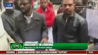 Insecurity In Zamfara: Nigerians In UK Protest Killings