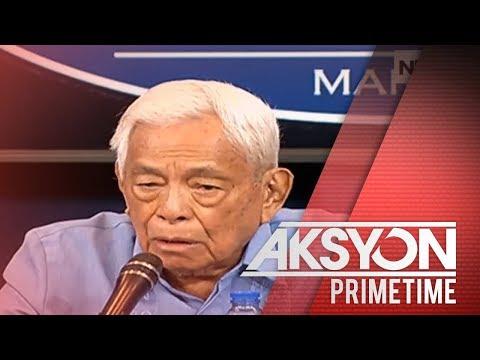 [News5]  Dating Sen. Pres. Pimentel, pinayuhan si Asec. Uson