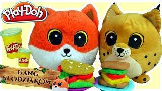 Play Doh & Gang Słodziaków • Kanapki od Rysia • bajki dla dzieci
