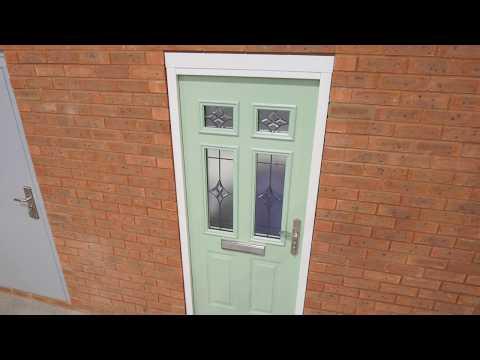Latham's Steel Security Doors Front Door Range