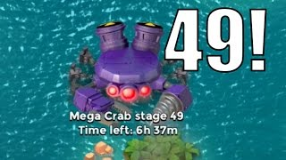 FINAL ATTACKS  Boom Beach  MEGA CRAB STAGE 47 49