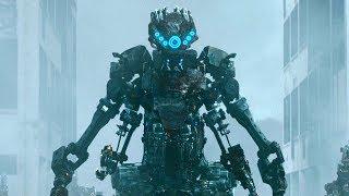 杀戮机器人自我升级,疯狂屠杀基地士兵!速看科幻电影《杀戮指令》