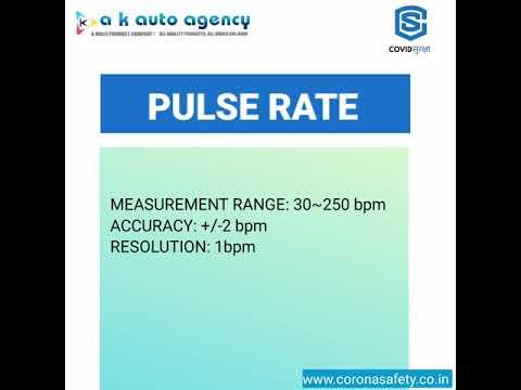 Technocare Fingertip Pulse Oximeter