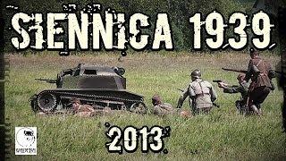 preview picture of video 'Siennica Wrzesień 1939 - Inscenizacja bitwy (21.07.2013) WW2 reenactment'