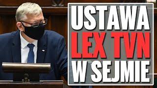 Ustawa Lex TVN przyjęta przez Sejm