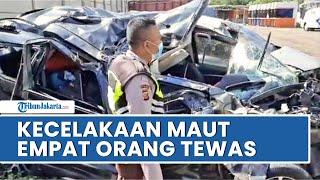Kecelakaan Tol Cipali Libatkan Minibus dan Truk, 4 Orang Tewas, Satu di Antaranya Masih Balita