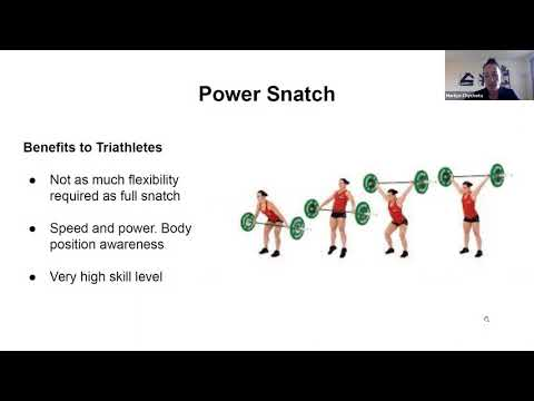 USAT POWER HOUR- Olympic Lifting for Triathletes. - YouTube