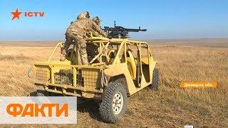 110 км/ч по бездорожью: в зоне ООС украинские бойцы тестируют военное багги