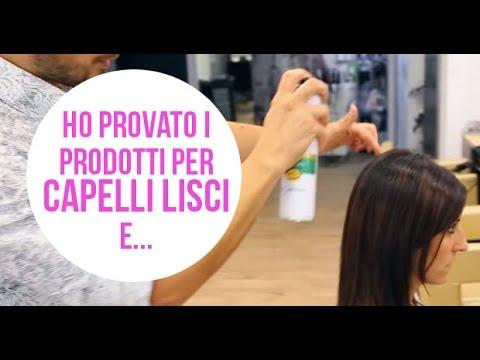 Maschere per crescita di capelli in salone