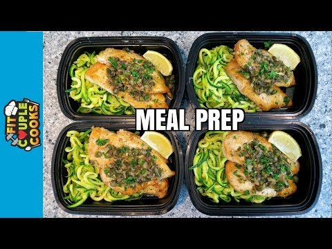 How to Meal Prep – Ep. 59 – CHICKEN PICCATA – LOW CARB MEAL PREP
