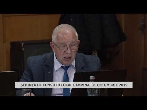 Şedinţa CL Câmpina 31oct 2019