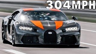 304 MPH Bugatti Chiron Proto – The Fastest Car In The World