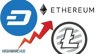 Litecoin, Ethereum and DASH - Chart Patterns
