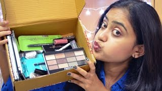 Image for video on HUGE Collective Makeup Haul | Mini Reviews | MUR, Essence, Miss Claire and more! by nailz4fun