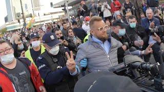 Protest Przedsiębiorców w Warszawie! – Zatrzymania Organizatorów – VETO