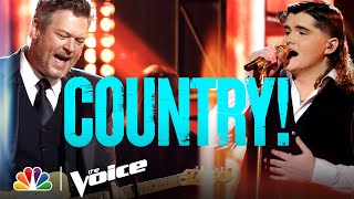 The Best Country Performances of the Season - The Voice 2021