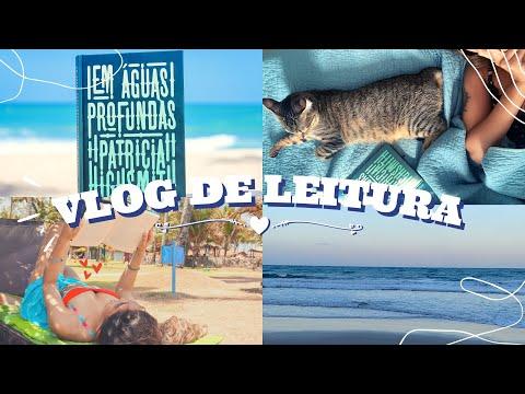 VLOG DE LEITURA: Em Águas Profundas - surtos, psicopatas, lesmas e mistérios | Rebecca Gueiros