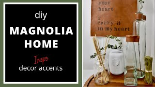 Diy MAGNOLIA HOME Joanna Gaines Inspired Home Decor Accents