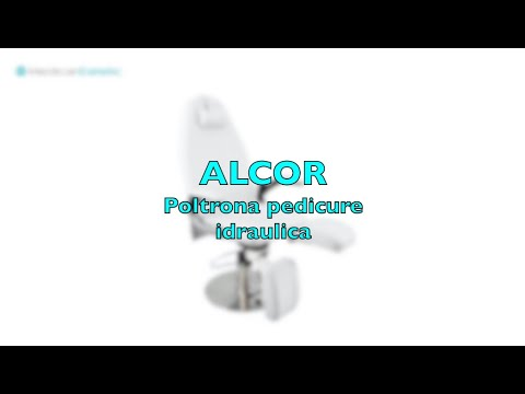 ALCOR Hydraulic pedicure chair white colour