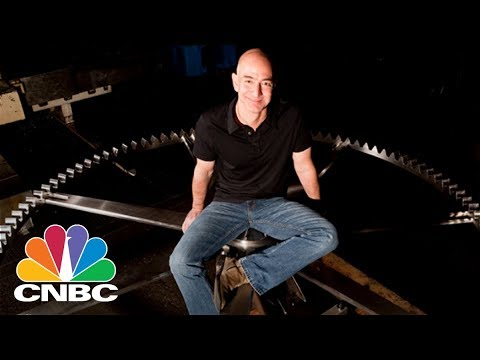 Amazon's Jeff Bezos Is Building A Giant Clock Inside A Texas Mountain | CNBC