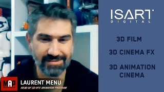 What's like to be a VFX Digital Artist - IsArt Digital's Head of VFX Laurent Menu Interview