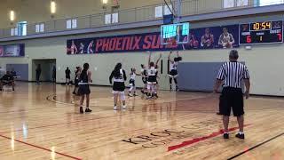 17U 602 Lady Nation Girls Basketball vs. AZ Elite