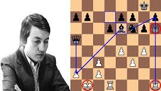 Anatoly Karpov slays Korchnoi's Sicilian Dragon