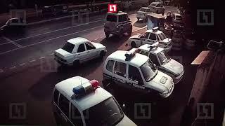 Нападение на пост полицейских в Ингушетии