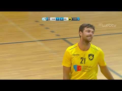 Handball Premier: ΠΑΟΚ-ΑΕΚ  30-31 | 08/05/2019 | ΕΡΤ