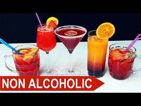 3 Non-Alcoholic Cocktails You Will Love (Mocktails)