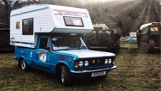 FSO Fiat 125p Camper – jedyny na świecie!