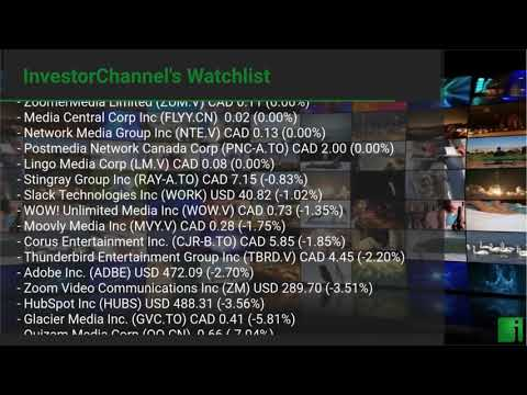 InvestorChannel's Media Watchlist Update for Wednesday, Ma ... Thumbnail