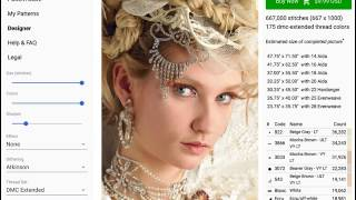 Creating A Cross-Stitch Chart From A Photo