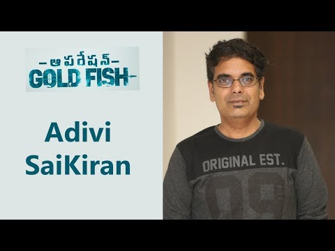 director-sai-kiran-at-operation-gold-fish-pre-release-event