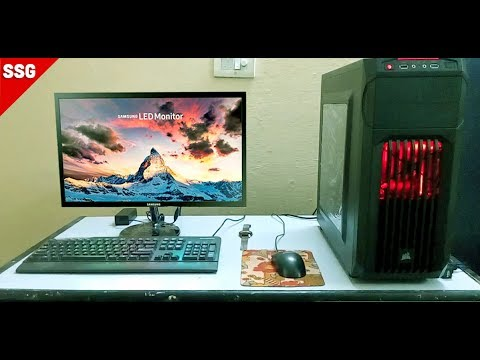 Samsung S19F350HNW (18.5 inch) LED Monitor Unboxing and Review