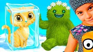 СМЕШНОЕ ВИДЕО ДЛЯ ДЕТЕЙ Новый игровой мультик СУПЕР-ДЕВУШКИ детская игра TutoTOONS