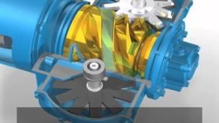 Video Nguyên lý hoạt động máy nén khí Mitsui Seiki