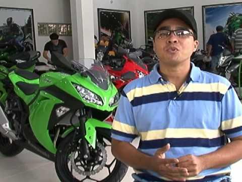 Conheça a Ninja 300 da Kawasaki