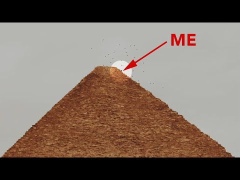 Climbing The Top Pyramids Of Giza: 5 Days In Jail!
