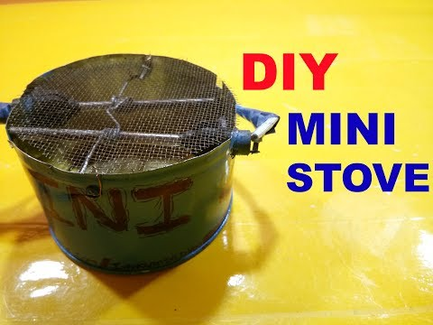 how to make a simple mini electric stove