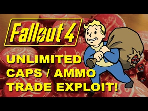 FALLOUT 4: Vendor Exploit Guide - Infinite Caps & Ammo + Buy Any Weapon / Armor (PC, Xbox, PS4)