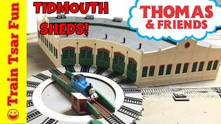 Tidmouth Sheds Haul, Unboxing, & Build! Thomas & Friends Trains