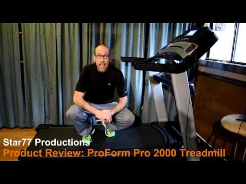 ProForm Pro 2000 Treadmill Product Review Customer Review iFit