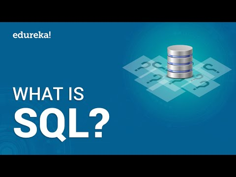 What is SQL? Learn SQL For Beginners | MySQL Certification ...