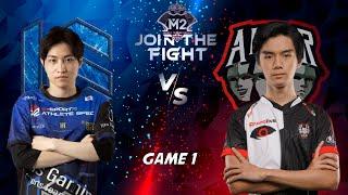 MATCH 1 M2 AE VS 10S GAMING!! Akhirnya Team INDONESIA BERMAIN!! GILA SIH GA KESENTUH TOWER AE!!